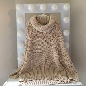 Cream Oversized Sweater